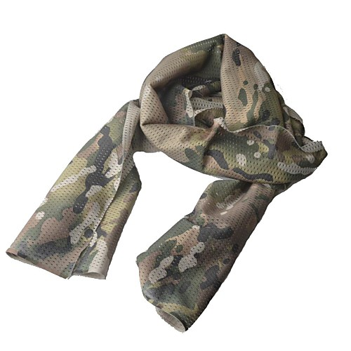 Военный Открытый Тактические воздухопроницаемой сеткой Ткани шарф - Камуфляж Lightinthebox 472.000