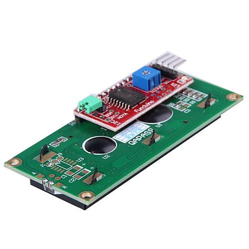iic/i2c модуль последовательного интерфейса доска порт для (для Arduino) 1602 ЖК- Lightinthebox 257.000