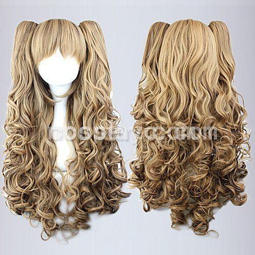 Harajuku стиль Косплей синтетический парик Лолита Грозди волнистые парик Ниггер-Браун Lightinthebox 2191.000