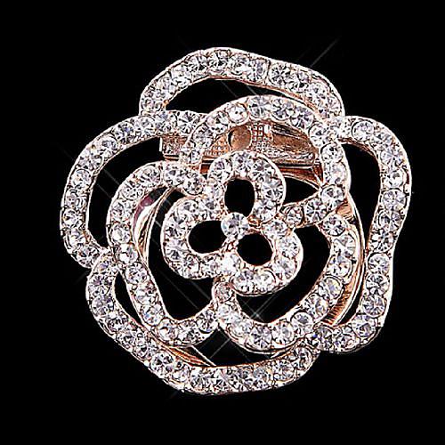 Ginasy розы Шаблон полым из Брошь Lightinthebox 2861.000