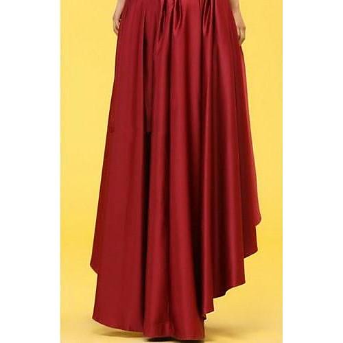 Женская Восхождение-Вдохновленный Cut ласточкин хвост Нерегулярные юбка Lightinthebox 1675.000
