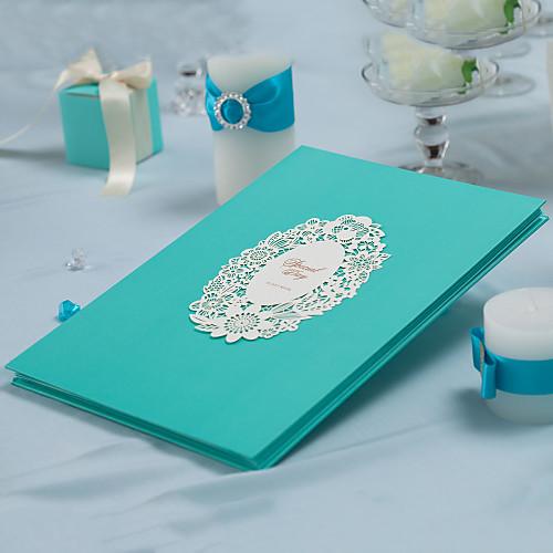 Элегантный цветочный Лазерная резка Гостевая книга (5 страниц) Lightinthebox 591.000