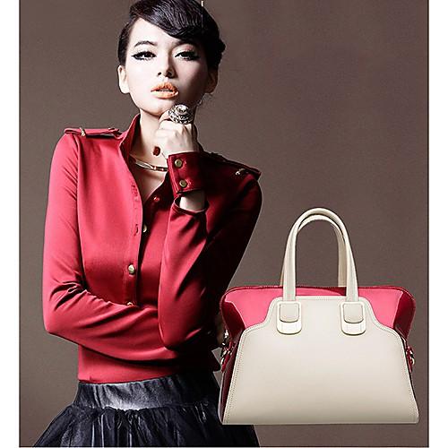 BABEINI Женская Классический элегантный Простой Кожа одно плечо сумка Lightinthebox 944.000