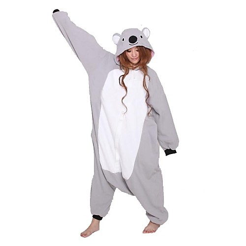 Взрослый Косплей Unisex Коала ватки Kigurumi костюм пижамы Lightinthebox 1787.000