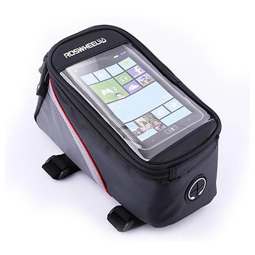 Велоспорт Полиэстер Прозрачный ПВХ водонепроницаемый демпфирования велосипедов Tube сенсорный экран мобильного телефона сумка Lightinthebox 644.000