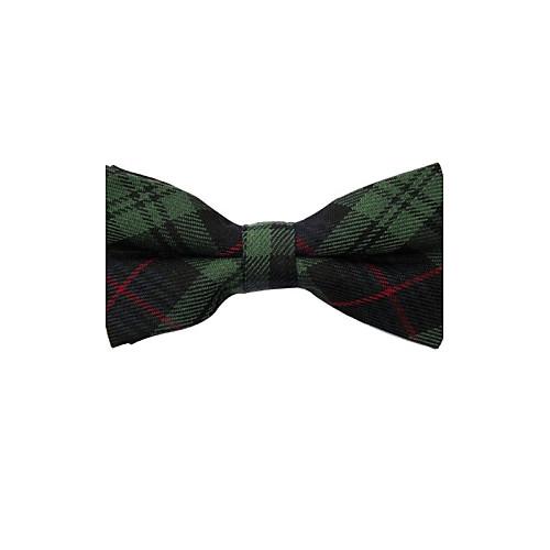 Мужская мода Темно-зеленый плед Боути Lightinthebox 429.000