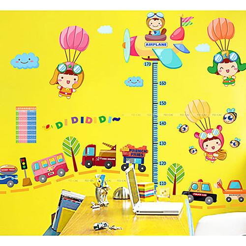Мультфильм Высота наклейки для мальчиков декоративные наклейки Lightinthebox 644.000