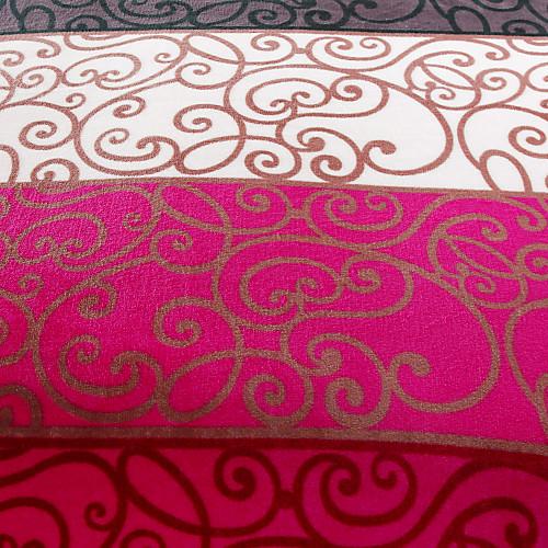 Полоса и цветочным узором фланели Одеяло Lightinthebox 1116.000