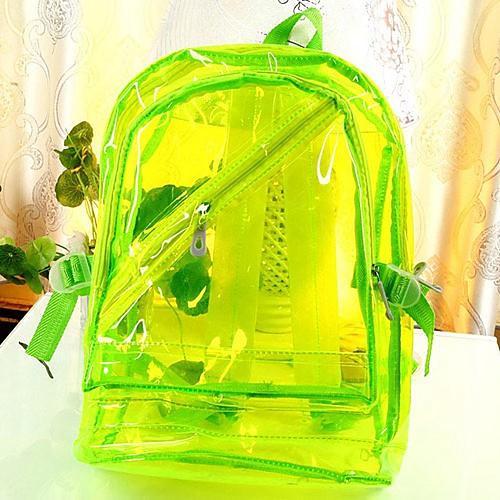 Женская Люминесцентная Прозрачный водонепроницаемый рюкзак Lightinthebox 1589.000