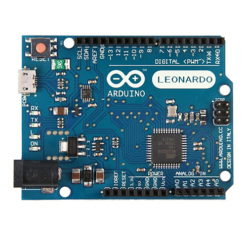 Arduino Leonardo с микроконтроллера ATmega32u4 Lightinthebox 515.000