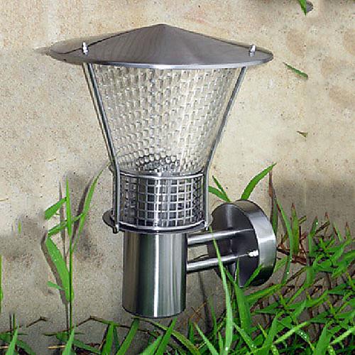 Открытый настенный светильник, 1 свет, Современные нержавеющей стали Стекло гальванических Lightinthebox 4296.000