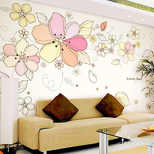 Цветочные розовый Сакура стены стикеры Lightinthebox 1503.000