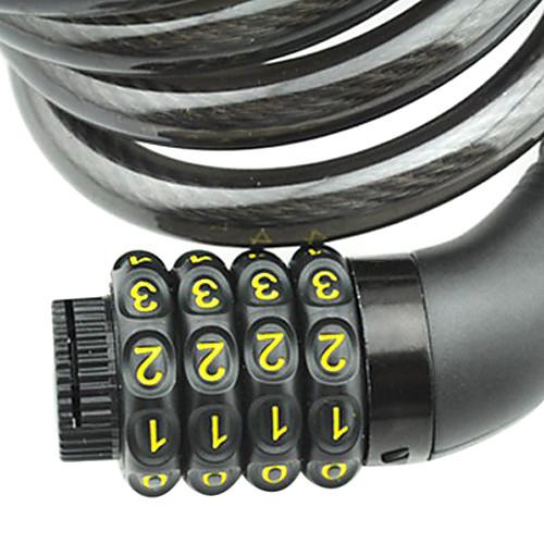 FJQXZ Велоспорт ABS инженер Пластиковые Противоугонная Черный кодовый замок Lightinthebox 343.000