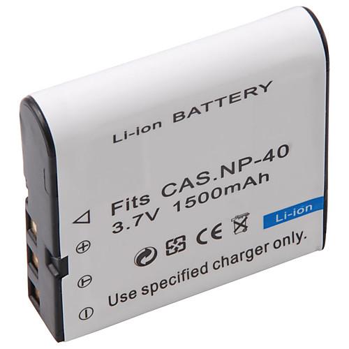 1500mah 3.7v цифровой камеры батареи NP-40 для Casio EX-Z30, Z40, Z50 и более Lightinthebox 171.000