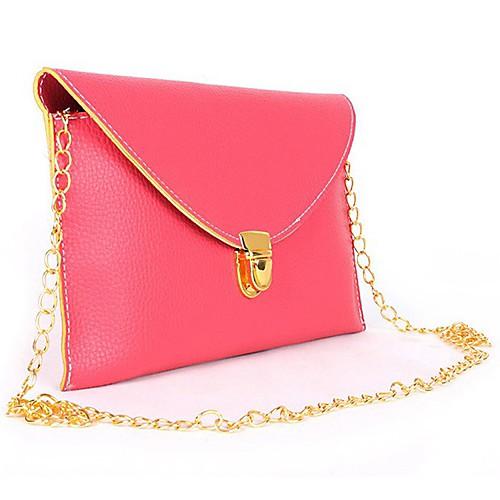 Женская цвета конфеты Ретро Конверт Сумка / Crossbody сумка Lightinthebox 386.000