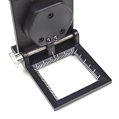 10X металлический складной карманный Ювелирные изделия Лупа Лупа увеличительное стекло со шкалой и LED Lightinthebox 343.000