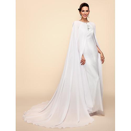 Длинные рукава тюль и кружева венчания / партии Вытяжки Lightinthebox 2199.000