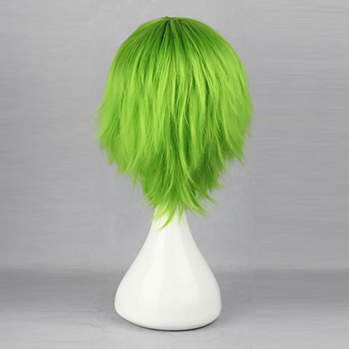 Harajuku стиль Косплей синтетический парик Bleach Масиро куна прямой короткий сторону взрыва парик (зеленый) Lightinthebox 1159.000