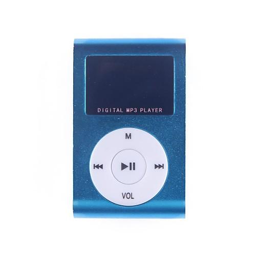 1.2-дюймовый OLED TF Card Reader MP3 музыкальный плеер с клипсой Lightinthebox 257.000