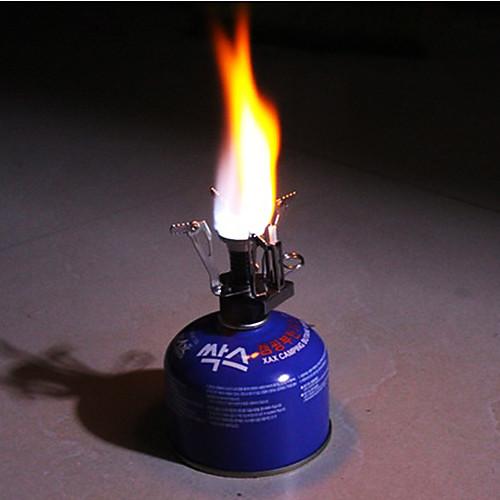 Сверхлегкий альпинизмом Портативный Газ бутан Пропан Канистра лагерь Плита горелки Lightinthebox 644.000