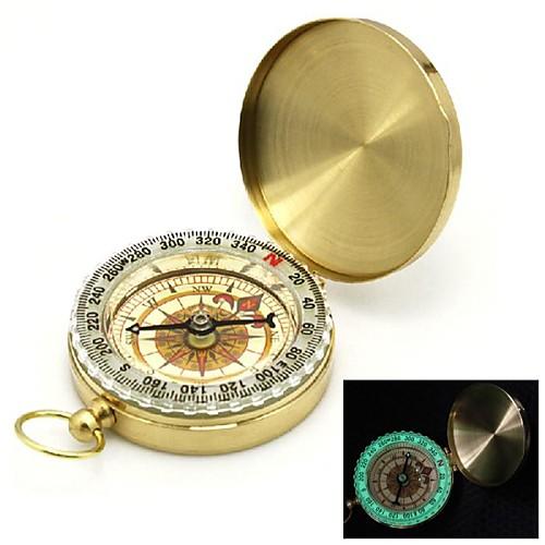 Флип-Open Позолоченные серебристых Карманный компас Lightinthebox 343.000