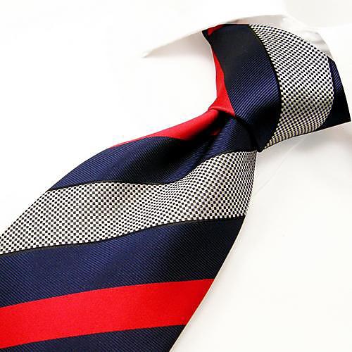 Мужская повседневная Многоцветный полосой шелковый галстук Lightinthebox 644.000