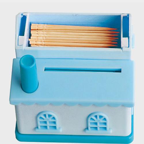Дом Shaped зубочистка держатель случайный цвет, W6.5cm х L11cm х H9cm Lightinthebox 321.000