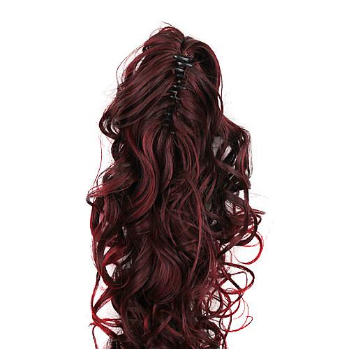Темно-красный длинными вьющимися Ponytail Расширения синтетические волосы Lightinthebox 1331.000