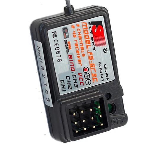 FS-GR3E Стандартный 2.4Ghz 3-канальный приемник для RC автомобилей и лодка Lightinthebox 558.000