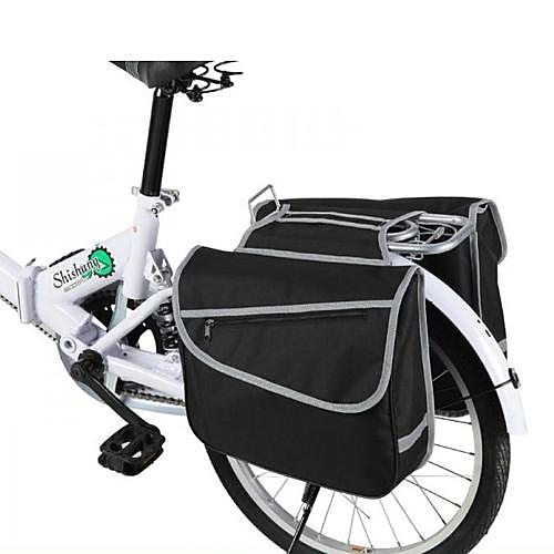 Велоспорт Высокая прочность водонепроницаемой ткани дождь доказательство износостойких большой емкости Bike Задняя полка Bag Lightinthebox 1288.000