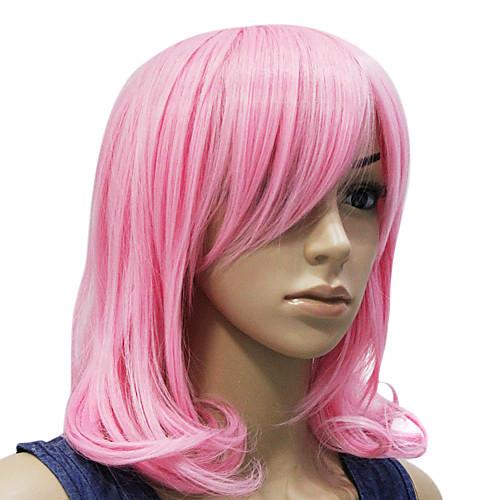 Монолитным розовые волнистые короткий парик партии Lightinthebox 1288.000