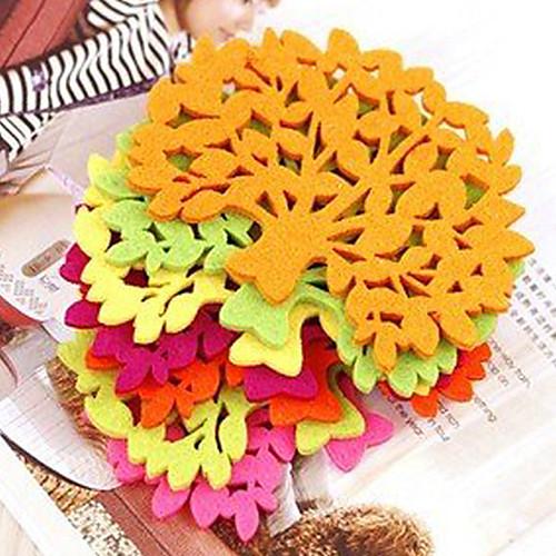 Войлок Прекрасный Дерево листьев Coaster Lightinthebox 85.000