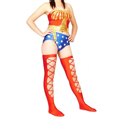 Wonder Woman лайкра косплей костюм Lightinthebox 3007.000