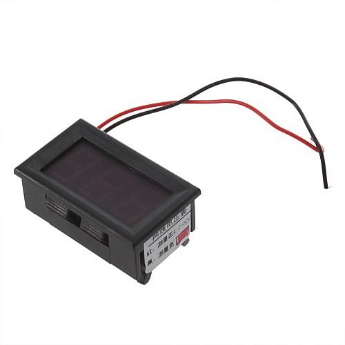 Метр панели Мини цифровой вольтметр 4,5-30V Красный светодиод Транспорт двигателя Lightinthebox 171.000