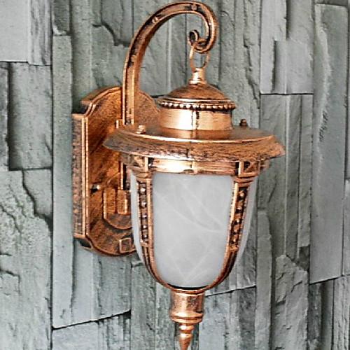 Открытый настенный светильник, 1 Свет, Винтаж Алюминий Стекло Живопись Lightinthebox 1718.000