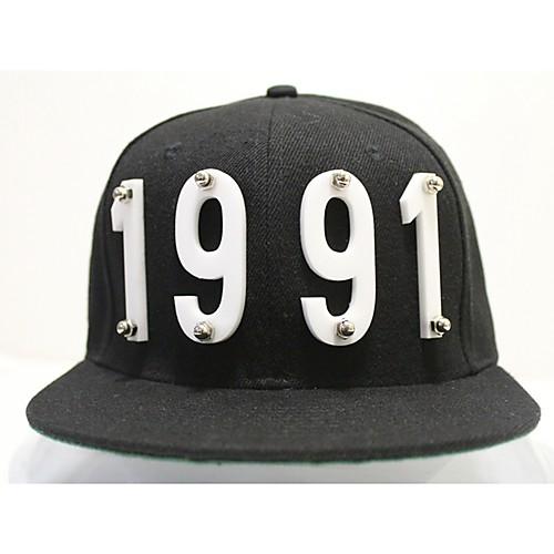 Мужская Кристалл Алфавит заклепки Хип-хоп Hat Lightinthebox 1202.000