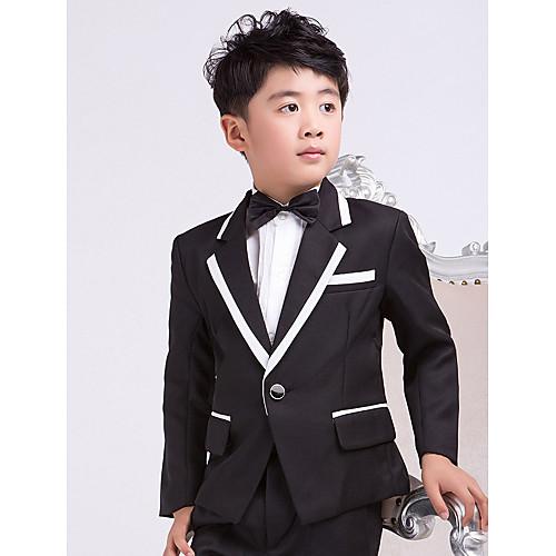 кольцо на предъявителя вечерняя смокинг костюмы черная страница мальчик наряды (1226514) Lightinthebox 2148.000