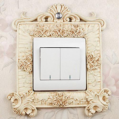 Европейский Люкс дворец Стиль Белый свет переключатель наклейки Lightinthebox 644.000