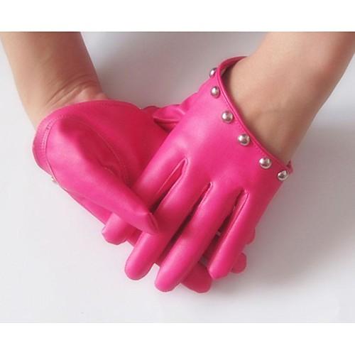 Женские Ночной клуб Мода Симпатичные заклепки перчатки Lightinthebox 601.000