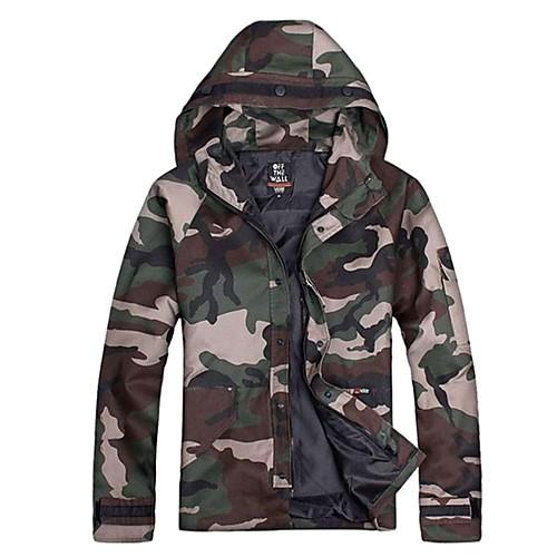 водонепроницаемой наружной куртка с капюшоном камуфляж Lightinthebox 1546.000