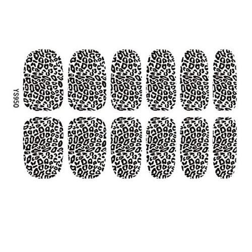 2014 Самые популярные Hot Lady Sexy Leopard Nail Art Советы наклейки Наклейки украшения 3D Фольга Lightinthebox 128.000
