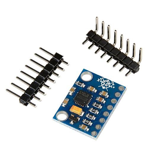 GY-521 MPU-6050 Модуль 3 оси гироскопа  акселерометра для Arduino - синий Lightinthebox 214.000