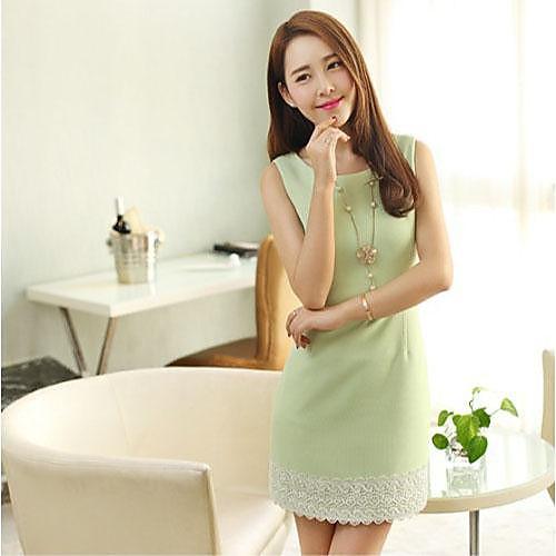 Женская Хан Ddition развивать нравственность платье Lightinthebox 1005.000