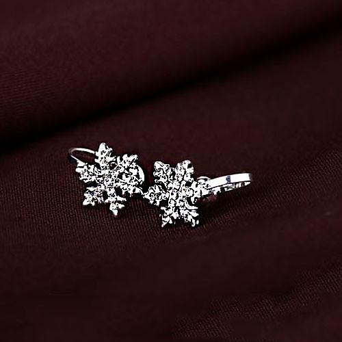 Замороженные Снежная королева Elsa серебра снежинки Косплей Серьги (4 штуки) Lightinthebox 257.000