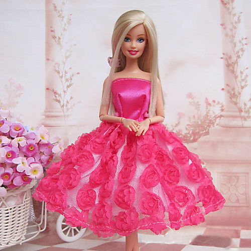 куклы Барби сладкие розы платье принцессы Lightinthebox 343.000