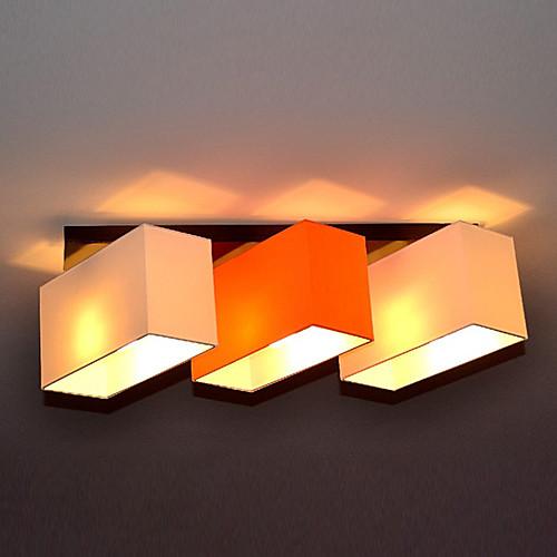 Для установки заподлицо, 3 Легкий, современный минималистский Металл Ткань Живопись Lightinthebox 3866.000