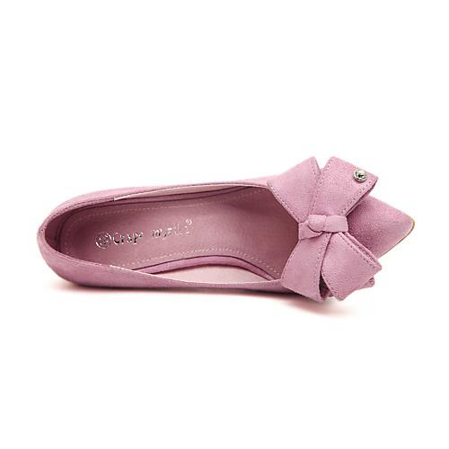 Замша Женские стилет каблук каблуки Насосы / каблуке Обувь на Bowknot (больше цветов) Lightinthebox 1073.000