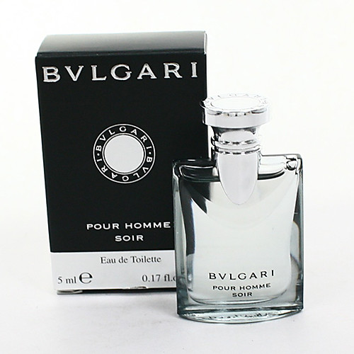 Bvlgari Классика Soir Мини Вода-Парфюм для мужчин 5 мл / 0.17oz Lightinthebox 397.000