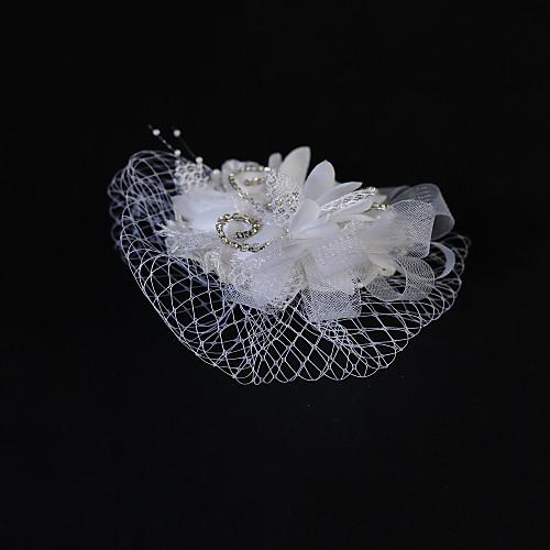Эластичный тюль свадьбы / участник Цветок со стразами Lightinthebox 437.000