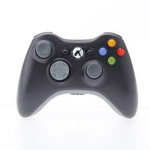 Контроллер беспроводной для Xbox 360 (черный)